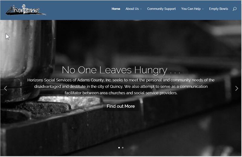 Horizons Social Services Web Site